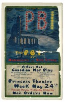 'P.B.I' [Poor Bloody Infantry], 1920 - poster