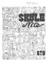 Skule Nite Program 1960