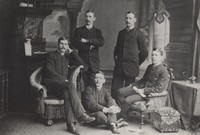 The Knox College Quintette Club, ca. 1886