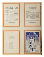 School Nite Program 1935