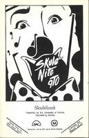 Skule Nite Program 1990