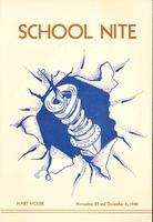 Skule Nite Program 1946